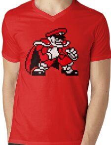 M. Bison - Street Fighter Sprite Mens V-Neck T-Shirt