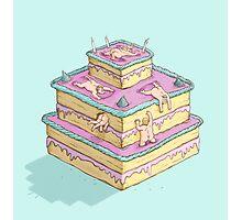 Cake orgy Photographic Print