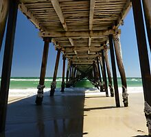 Henley beach jetty by Fran E.