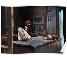 Kathmandu Butcher Poster