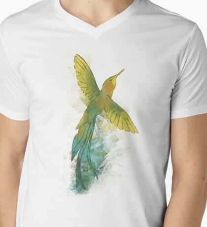 The hummingbird Mens V-Neck T-Shirt