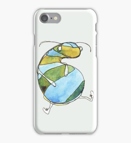 Stripey Grub iPhone Case/Skin
