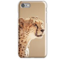 Cheetah portrait iPhone Case/Skin