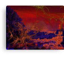 Fire Fantasy Canvas Print