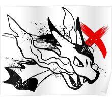 Charizard X Poster