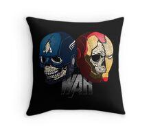 War. Throw Pillow