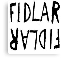 FIDLAR logo Canvas Print