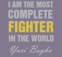 Yuri Boyka Quote Kids Tee