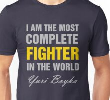 Yuri Boyka Quote Unisex T-Shirt