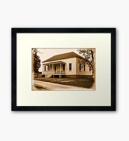 1785 John Craven House Framed Print