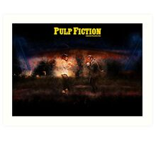 Pulp Fiction - Alternative Movie Poster Art Print