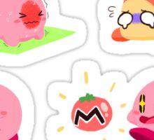 Kirby Sticker Sheet Sticker