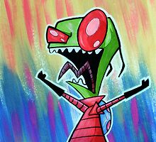 Invader Zim by Mark Gagne