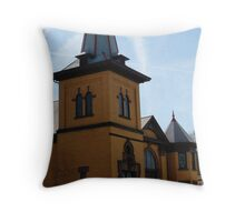 Local House of God Throw Pillow
