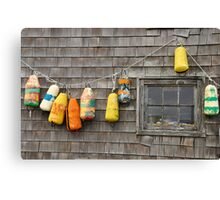 Hung Out to Dry in Nova Scotia Canvas Print