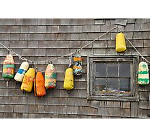 Hung Out to Dry in Nova Scotia Photographic Print