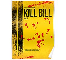 KILL BILL - VOL. II MINIMAL MOVIE POSTER Poster