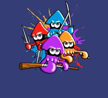 Teenage splatter ninja squids. Unisex T-Shirt