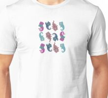 Repeating Monster Cats Unisex T-Shirt
