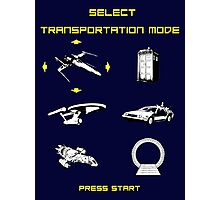 Sci-fi Transportation 2 Photographic Print