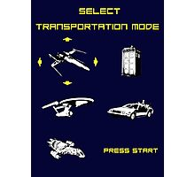 Sci-fi Transportation Modes 1 Photographic Print