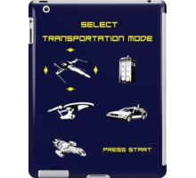 Sci-fi Transportation Modes 1 iPad Case/Skin
