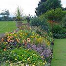Formal garden, Devon by monkeyferret