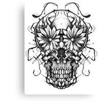 Mirror skull Canvas Print