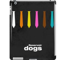 Reservoir Dogs - minimal movie poster iPad Case/Skin