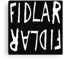 FIDLAR logo ( white [ on white ] ) Canvas Print