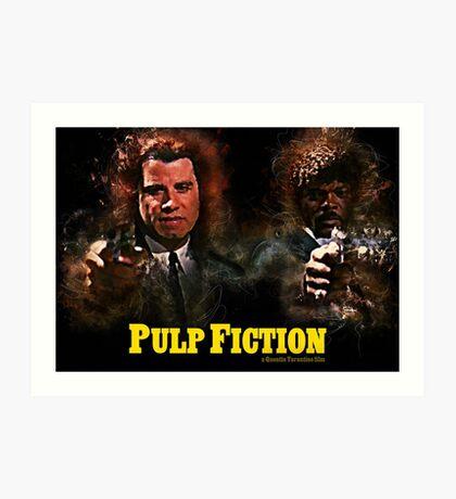 Pulp Fiction - Alternative Movie Poster Art Print