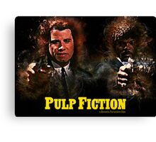 Pulp Fiction - Alternative Movie Poster Canvas Print