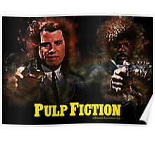 Pulp Fiction - Alternative Movie Poster Poster