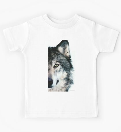 Wolf Art - Timber Kids Tee