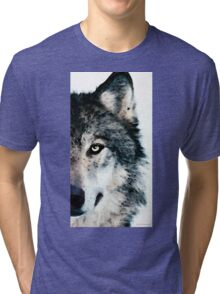 Wolf Art - Timber Tri-blend T-Shirt