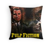 Pulp Fiction - Alternative Movie Poster Throw Pillow