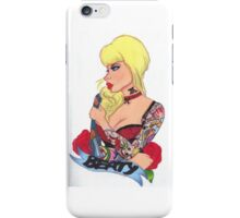 Tattoo Girl iPhone Case/Skin