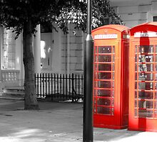 London telephone box by Jenny Wood
