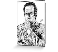 Saul Goodman : Better Call Saul Greeting Card