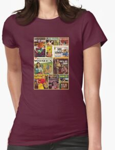 Pulp Novel Bad Girls Collage T-Shirt