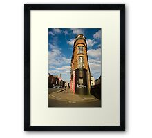Washington Street & Little Hanover Street Framed Print