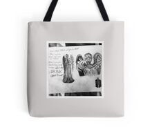 Weeping Angles : Don't Blink Tote Bag