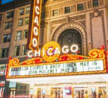 Chicago Theatre Sticker