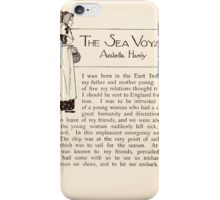 Mrs Leicester's School Charles & Mary Lamb with Minifred Green 18xx 0170 The Sea Voyage iPhone Case/Skin