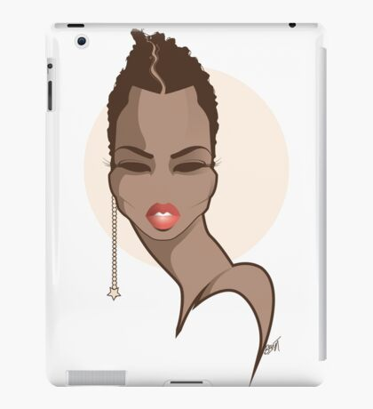 CROP DIVA iPad Case/Skin