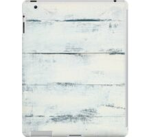 White Wooden Wall  iPad Case/Skin