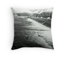 The Power of Water - Appleton Spillway Throw Pillow