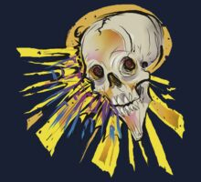 HAHA-SHINY SKULL by SquidHead