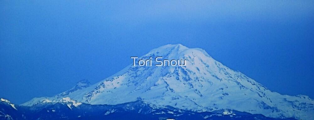 The Glorious Mt. Rainier by Tori Snow