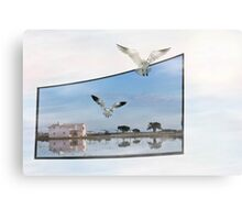 Live TV Canvas Print